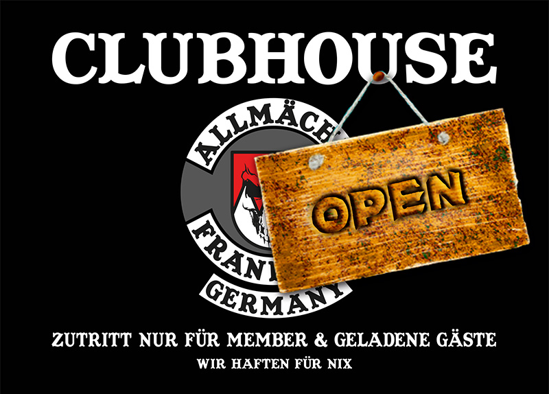 Clubhouse open