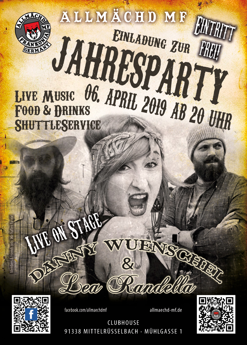 AMF Jahresparty 2019
